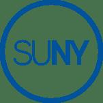SUNY logo: The State University of New York