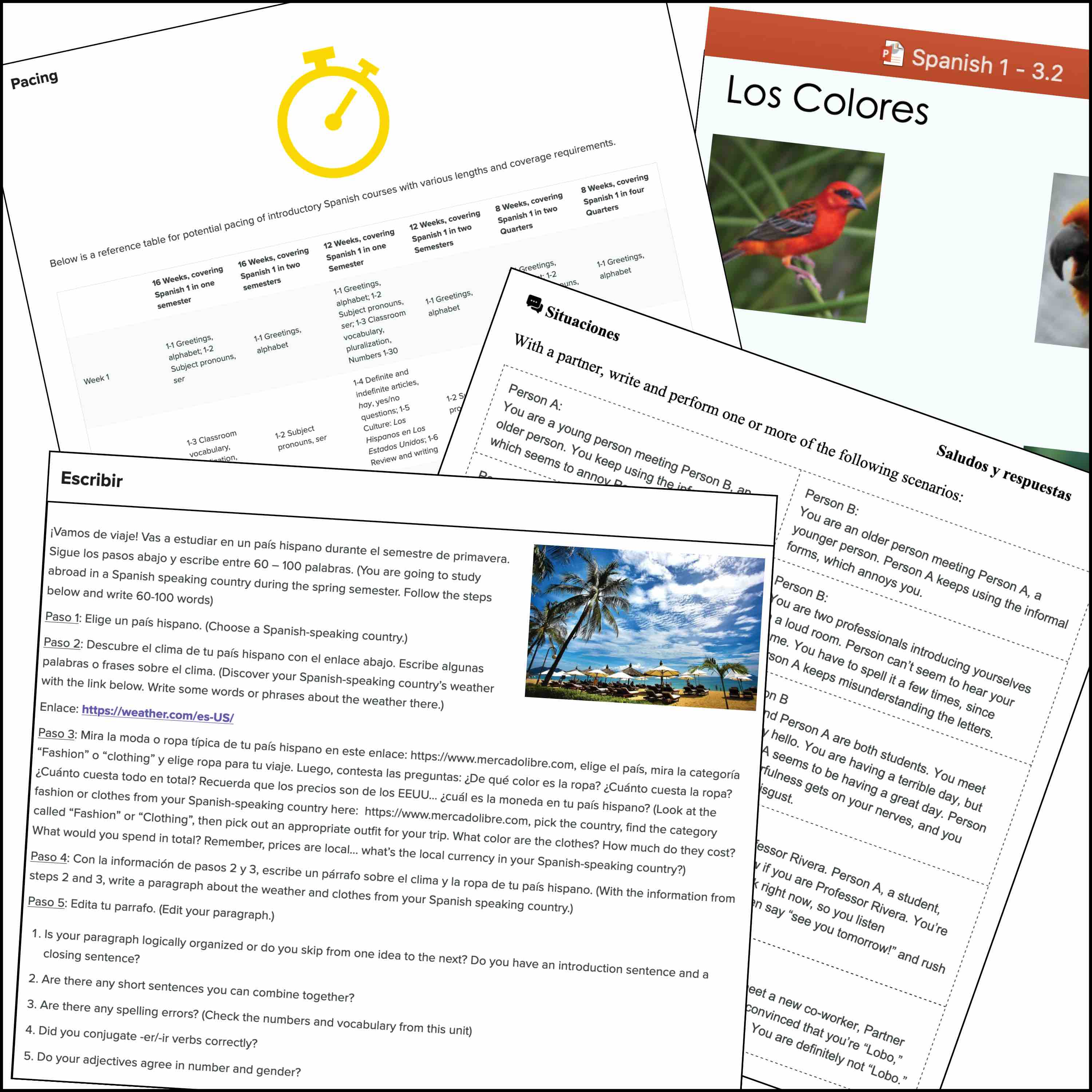 Lumen Waymaker Spanish Instructor Resources Examples